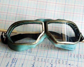 vintage goggles, aviator, motorbike, skiing, steampunk at its best, collectibles, Cool Vintage, POVT