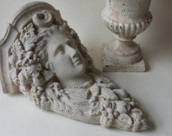 cement victorian female corbel tile
