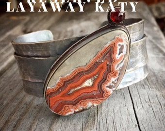 Do not purchase layaway for Katy Sterling Silver Cuff Bracelet Handmade Jewelry By Joy Kruse Wild Prairie Silver