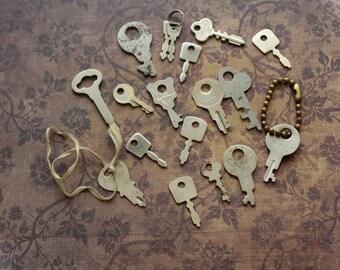 Small Metal Keys