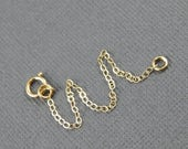 """Mothers Day Sale Necklace extender - 1"""" , 2"""", 3"""", 4"""" or 5"""", gold filled extender chain"""