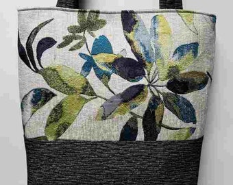 Flowered Handmade Purse