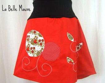 Chihiro fairy red and white skirt