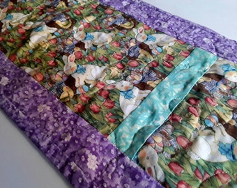 Spring arrivals valentines day and easter by desertskyquilts easter runner easter decor easter gifts holiday decorations easter table linen negle Gallery