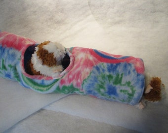 XL Tunnel in Fleece with Cotton inside and Peek Hole for Small Animal