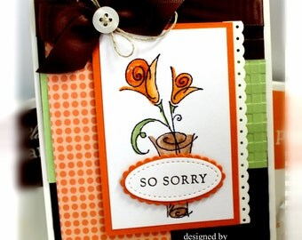 Stampin' Up So Sorry Card
