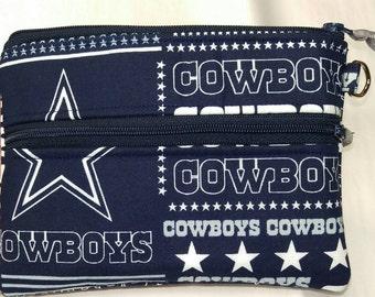 Dallas Cowboys stadium size cross body purse handmade in the USA