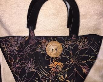 Top handle purse