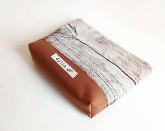 Cosmetic Pouch, Makeup Bag, Mens Bag, Pencil Pouch, Toiletry Bag,  Zipper Pouch, Pencil Case, Travel Zipper Bag, Cord Bag, Makeup Case