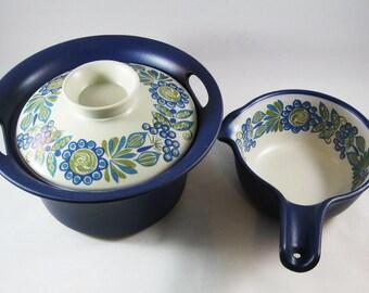 Mod Figgjo Flint of Norway Casserole and Saucepot