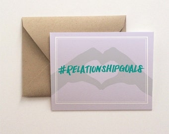 Relationship Goals Card