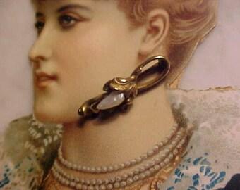 Victorian Pin Seed Pearl EVER So Dainty Mini Treasure