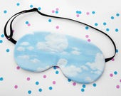 Clouds Sleep Mask, Soft Silk Eye Mask, Relaxing, Dreaming Accessory