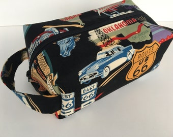 Boy Toiletry Bag, Kids Toiletry Bag, Girl Toiletry Bag, Toiletry Bag for Women, Toiletry Bag for Men, Travel Bag - Route 66 Travel