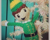 Crocheted Buddy the Elf