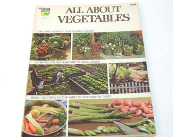 All About Vegetables, Ortho Books, Vintage Gardening Book