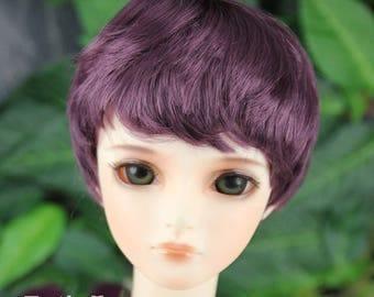 """Fatiao - New Dollfie SD 1/3 BJD Dolls Wig size 8-9"""" - eggplant"""