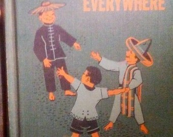1954 Stories from Everywhere School Book