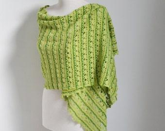 ONARI, Crochet shawl pattern, pdf