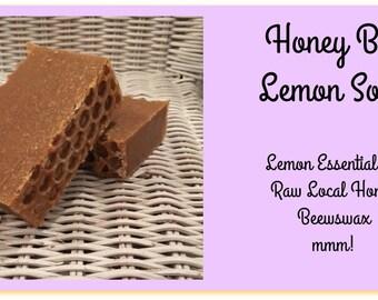 Honey Lemon Bar Soap