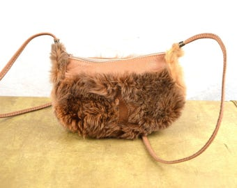 Vintage Mini Australia Kangaroo Fur Purse