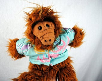 Vintage 80s 1988 Alf Puppet