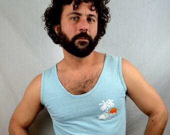Vintage 80s Maui Tank Top Shirt