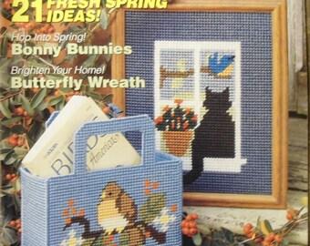 Vintage Plastic Canvas Magazine No. 13 March/April 1991