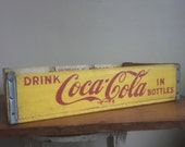 RESERVED. Vintage 1967 Coca Cola Crate