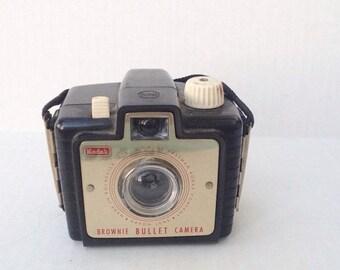 SPRING SALE Vintage Kodak Brownie bullet camera. Bakelite camera. Photography. Photographer. Photograph.