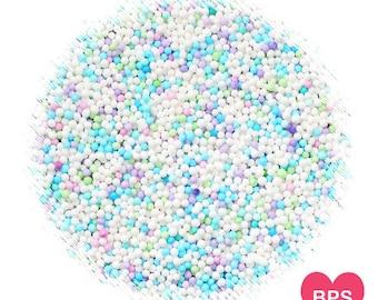 Mermaid Party Nonpareil Sprinkles, Mermaid Sprinkles, Under the Sea Sprinkles, Edible Sprinkles, Pastel Nonpareil Sprinkles, Pastel Sprinkle