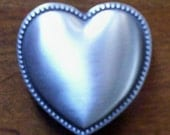 Heirloom Wedding Hourglass Custom Heart Charm Closure