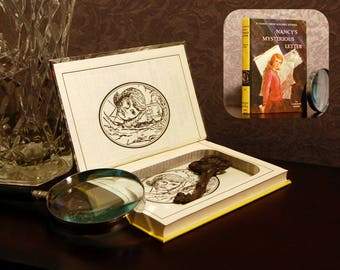 Hollow Book Safe (Vintage 1986 Nancy Drew: Nancy's Mysterious Letter)