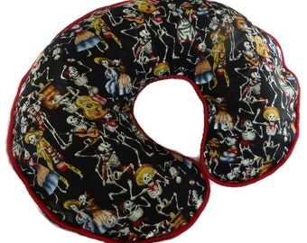 Boppy Pillow Cover Day of the Dead Nursing Pillow Cover for baby boy or girl