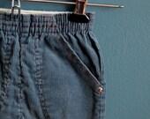 Vintage 1980s Teal Corduroy Pants - Size 2T 3T