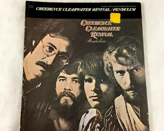 1971 Creedence Clearwater Revival/ Pendulum. Classic Rock, Folk Rock Sheet Music Book. Vintage Sheet Music. Piano, Vocal, Easy Piano/ Organ