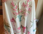 Reserved for Mimzi - Vintage tablecloth - Mid Century Collectible