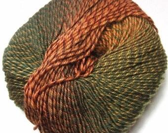 Knitting Fever Painted Sky Yarn #229 Jungle Juice Superwash Wool Self Striping