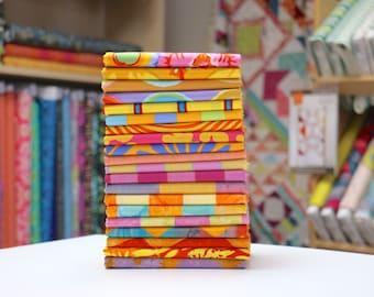 Kaffe Fassett - Artisan (warm) - Half Yard Fabric Bundle - 20 print/woven/batiks