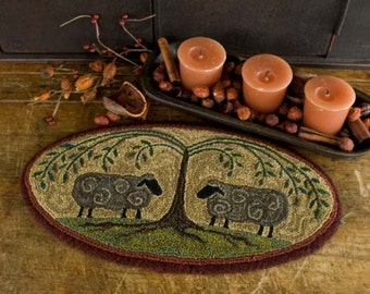 Shepard's Shade Punchneedle Embroidery, Threads That Bind, #TTB367