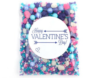 12 Valentine Cupcake Packets Candyfetti™ Candy Confetti Sprinkles