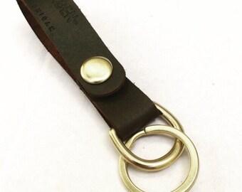 Dark Brown Keychain