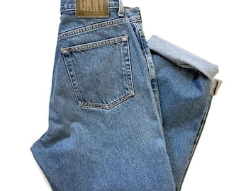 vintage DKNY 90s Jeans / High waisted Denim / Boyfriend Jeans / 29 x 27