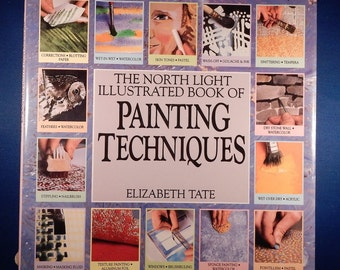 Vintage North Light Illustrated Book of Painting Techniques - Used