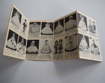 Vintage MARCIE DOLL PAMPHLET Paper Catalog Booklet Collector Brochure Collection 1940s Inventory List Dolly wish list