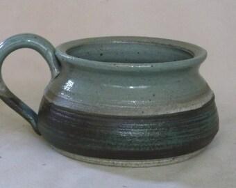 Green and Blue green Mug