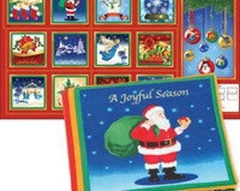 Holiday Treasures- A Joyful Season Book Panel-24 inch panel