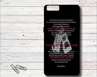 Rocky Quotes, Rocky Balboa, Phone Case, Rocky Balboa iPhone Case,, iPhone 6, 6 Plus, 6+, iPhone 7, 7s, 7+, Samsung Galaxy Case, S6, S7