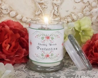 Protection Candle, Jar Candle, Altar Candle