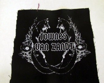 Townes Van Zandt >> Backpatch >> Foxes >> Metal AF